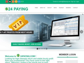 HYIP Investment Program:24PAYING