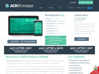 HYIP Investment Program:ACN Futures Limited