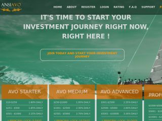 HYIP Investment Program:ANSIAVO