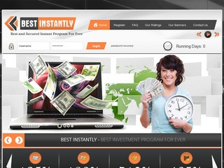 HYIP Investment Program:BEST INSTANTLY