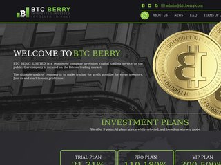 HYIP Investment Program:BTCBERRY