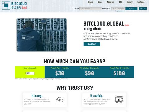 Bitcloud Global