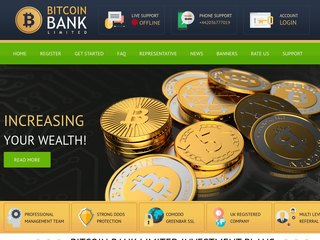 HYIP Investment Program:Bitcoin Bank