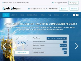 HYIP Investment Program:BpEtroleum
