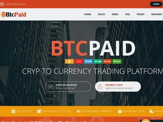 HYIP Investment Program:BtcPaid