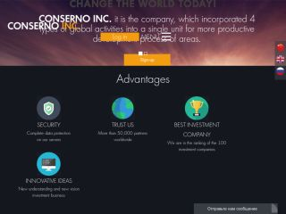 HYIP Investment Program:CONSERNO INC.