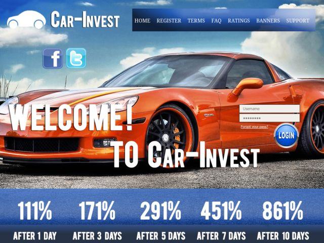 HYIP Investment Program:Car-invest