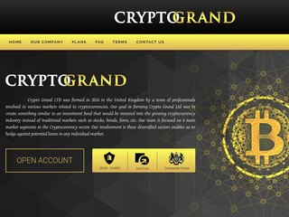 HYIP Investment Program:Crypto Grand LTD