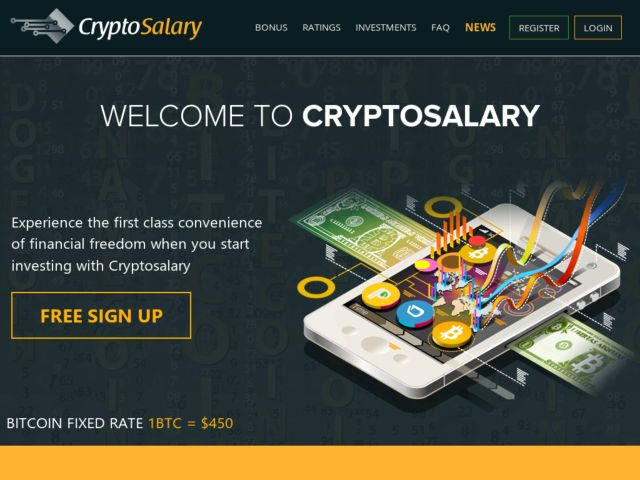 HYIP Investment Program:CryptoSalary