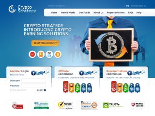 HYIP Investment Program:CryptoStrategy