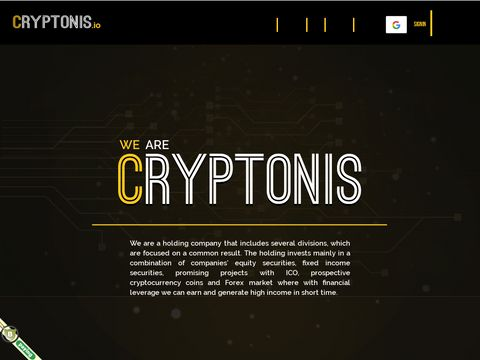 Cryptonis Limited