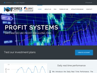 HYIP Investment Program:FOREXprofitVIP