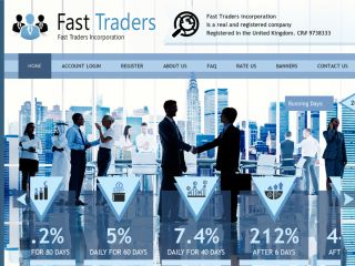 HYIP Investment Program:Fast-Traders
