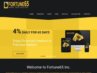 HYIP Investment Program:Fortune65