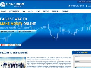 HYIP Investment Program:Global Empire