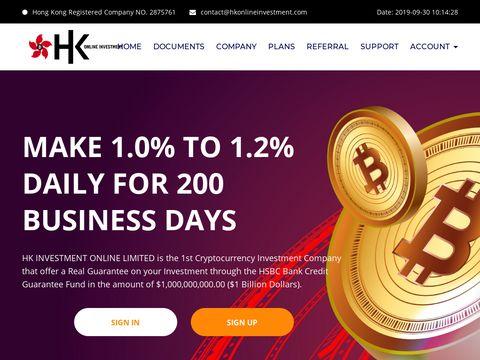 HK Online Investment Limited screenshot
