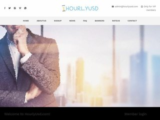 HYIP Investment Program:HourlyUsd