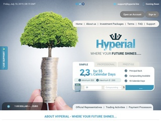 HYIP Investment Program:Hyperial Limited