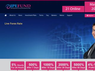 HYIP Investment Program:IpeFund