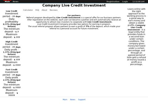 Live Credit Investment