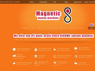 HYIP Investment Program:Magnetic8