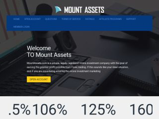 HYIP Investment Program:Mount Assets