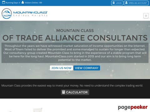 HYIP Investment Program:Mountain Class