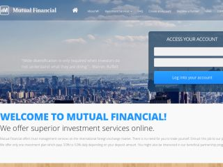 HYIP Investment Program:Mutual Financial