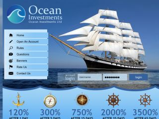 HYIP Investment Program:Ocean Investments