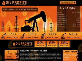 HYIP Investment Program:OilProfits