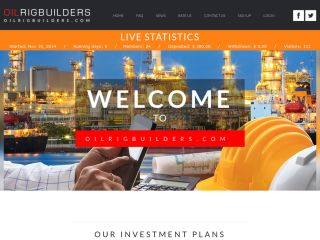 HYIP Investment Program:OilRigBuilders