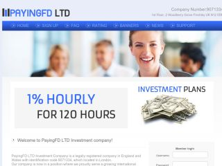 HYIP Investment Program:Paying FD Ltd