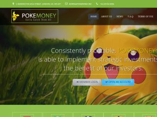HYIP Investment Program:PokeMoney