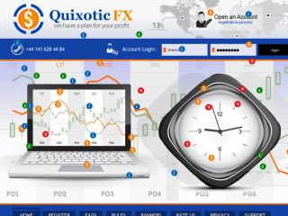 HYIP Investment Program:Quixotic Fx