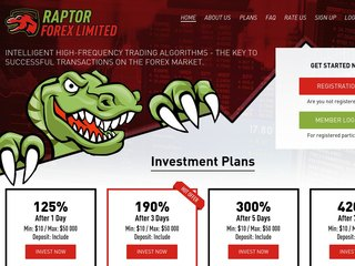 HYIP Investment Program:Raptor Forex Limited