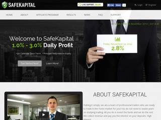 HYIP Investment Program:SafeKapital