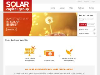 HYIP Investment Program:Solar Capital Group