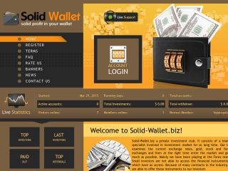 HYIP Investment Program:Solid-Wallet