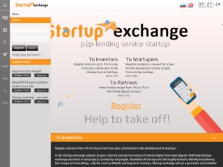 HYIP Investment Program:Startup-Exchange