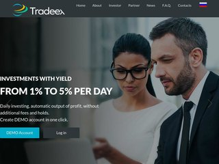 HYIP Investment Program:TradeEx