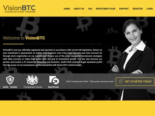 HYIP Investment Program:Vision BTC Limited